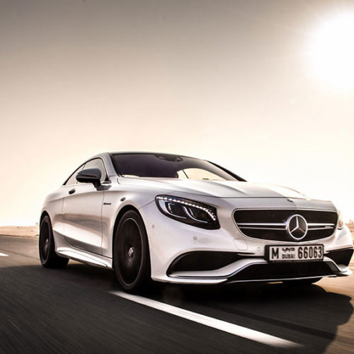 Mercedes S63 Coupe 2017