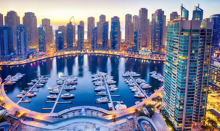 luxury car rental in Dubai marina