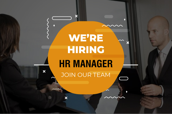 We Hiring HR Manager