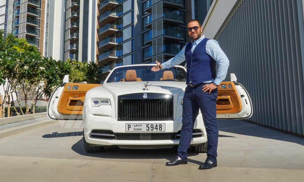 Rolls Royce Dawn Dubai Rent
